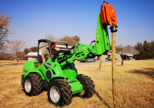 post hole digger attachment for avant loaders